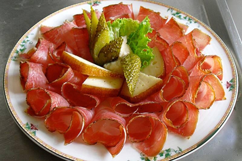 Tscherluierhof Hof Cucina Tirolese